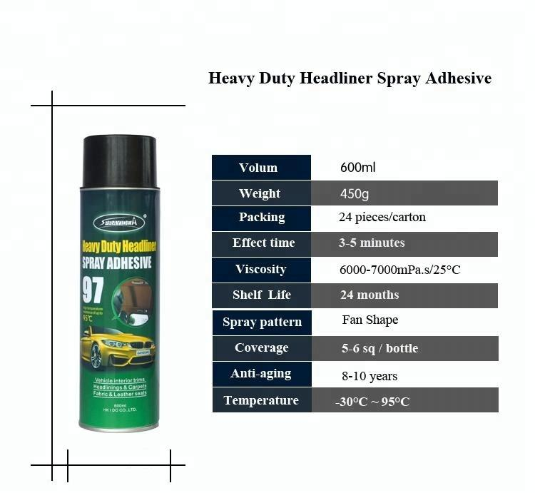 spray adhesive for car ceiling fabric headliner fabric adhesive car upholstery glue spray